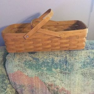 Rectangular Gathering Basket